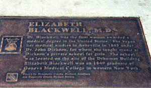 Elizabeth Blackwell, M.D. Hobart And William Smith Colleges