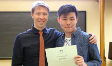 Ben Ristow and Kevin Lin '20