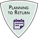Planning to Return