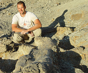 After graduating with a Ph.D. from the University of Pennsylvania, Matt Lamanna '97 became the assistant curator of vertebrate paleontology at Carnegie Museum of Natural History.