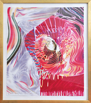 James Rosenquist , Sailor ? Speed of Light, 1999.
