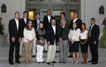 Jerry McGuire with Students